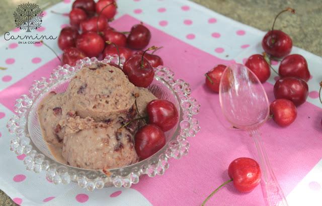 Helado de crema y cerezas feria cereceite de torres for Torres en la cocina youtube