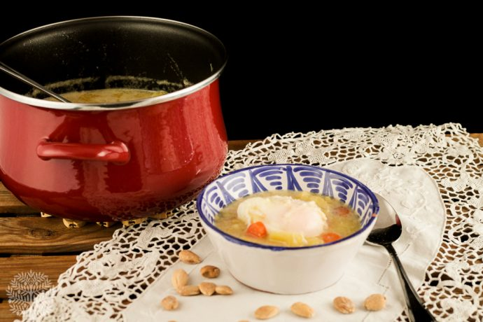 patatas en ajopollo