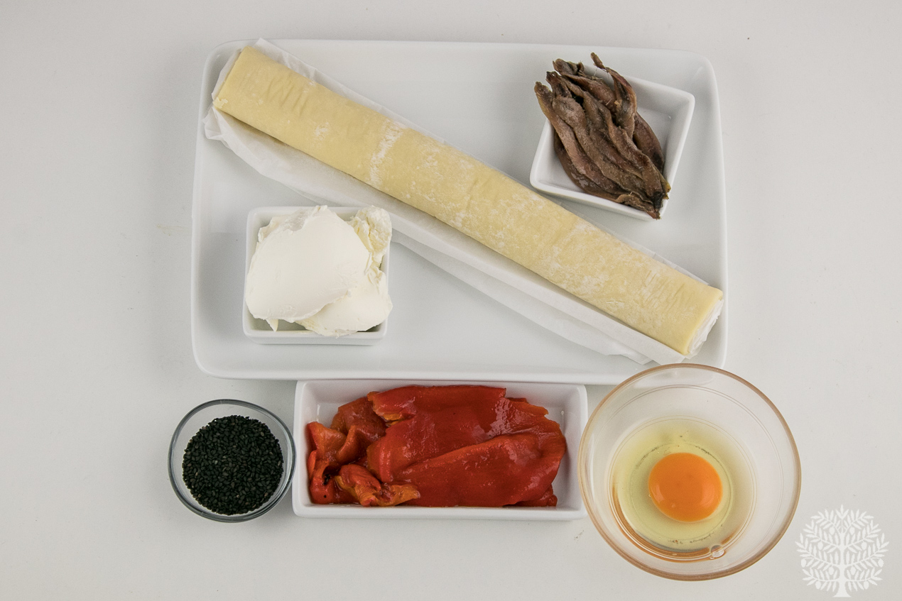 ingredientes piruletas de hojaldre salado