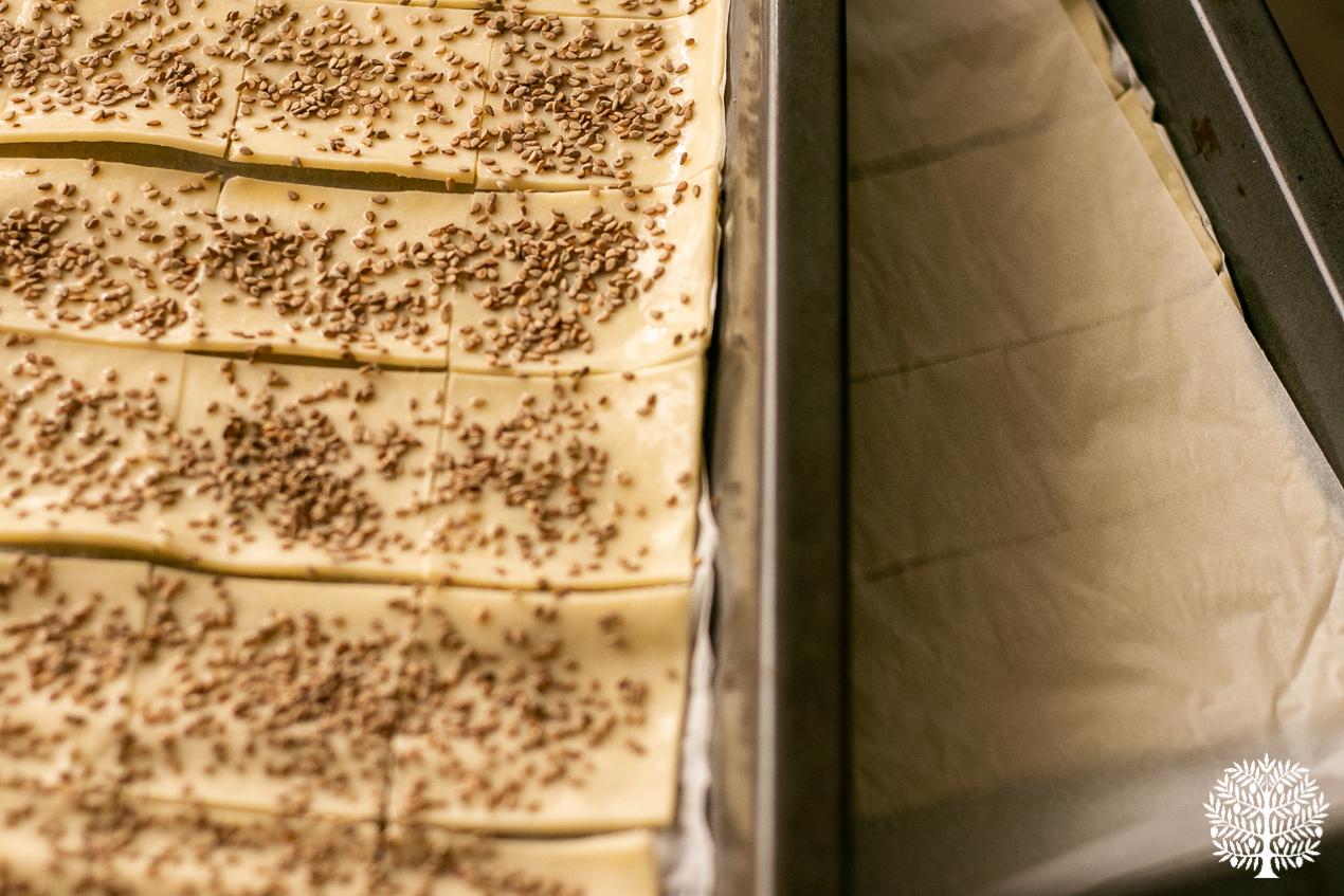 Hojaldres de membrillo y queso de cabra